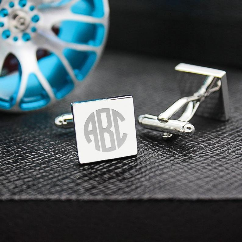 Custom Iron Slice Cufflinks - Feedfend - fistcase