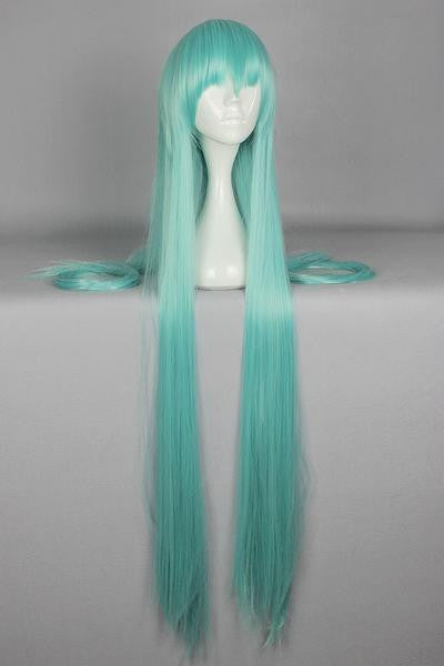 120cm Straight Blue Cosplay Wig Anime Wigs - Feedfend