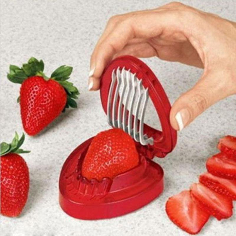 Strawberry Slicer Kitchen Gadget - Feedfend - fistcase