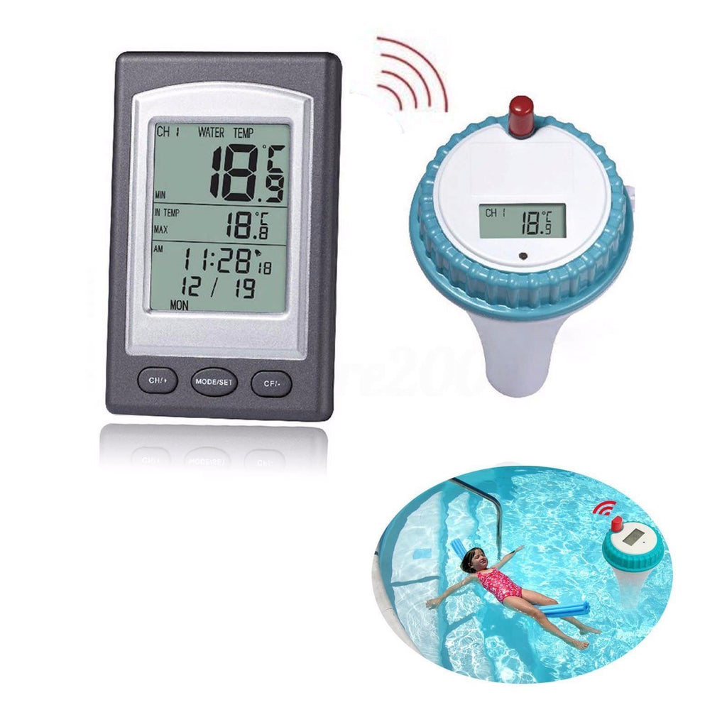 Wireless Remote Swimming Pool Floating Thermometer - Feedfend - fistcase