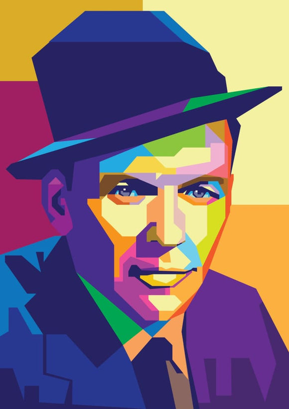 Hey Hollywood: Frank Sinatra - Stilea - Plakat
