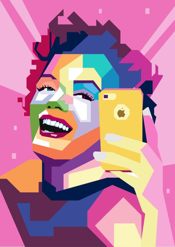 Hey Hollywood: Monroe Selfie - Stilea - Plakat