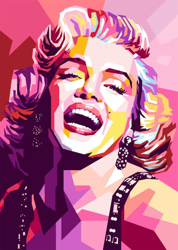 Hey Hollywood: Pinkmonroe - Stilea - Plakat