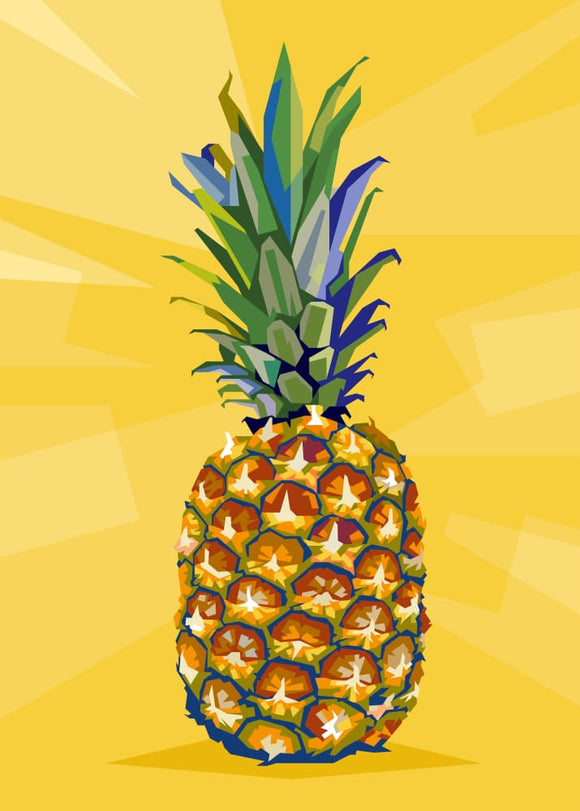 Vi Hyller: Pineapple - Stilea - Plakat