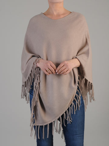 Cashmere Fringe Poncho was $195.00 only 2 left