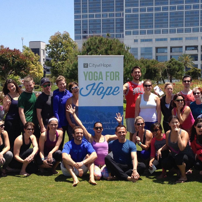 Yoga For Hope San Diego 2015