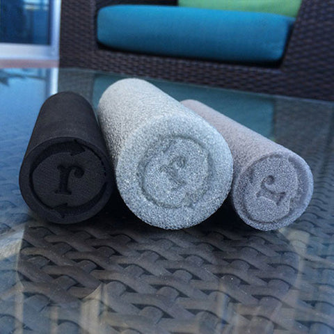 3 Pack - Mini Foam Rollers (Extra-Soft, Soft, & Firm)