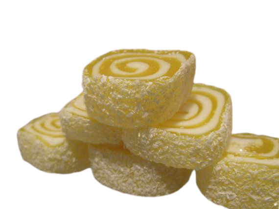 Mastic Wrapped Turkish Delight with Marshmallow & Coconut