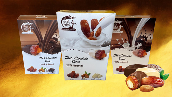 Gourmet Chocolate Dates Bundle (3 x 454g)