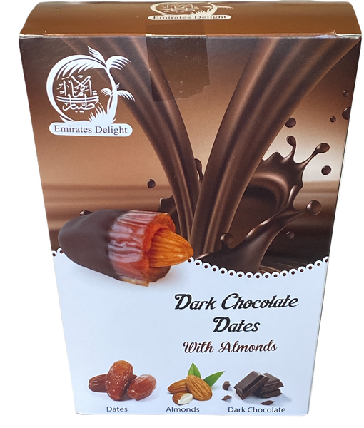 Dark Chocolate Medjoul Dates with Roasted Almond (454g)