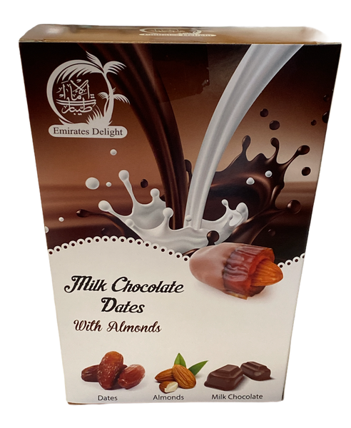 Milk Chocolate Medjoul Dates with Roasted Almond (454g)