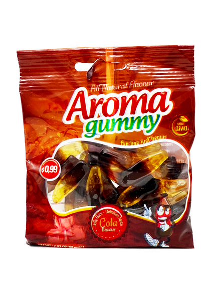 Cola Flavored Aroma Gummy (3x80g) Halal Candy by Aroma Imports