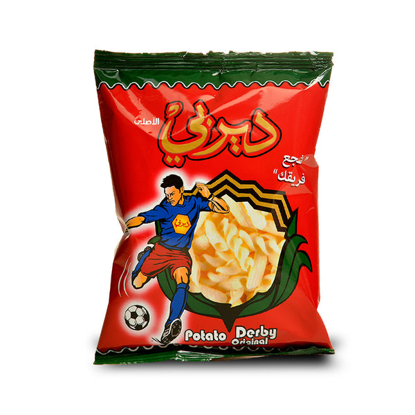 Syrian Derby Potato Chips (18x20g)