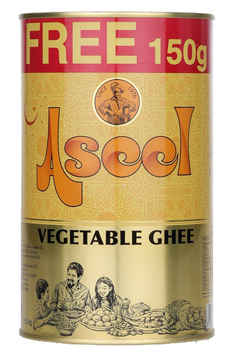 1Kg Aseel Ghee - 150g free! Product of UAE