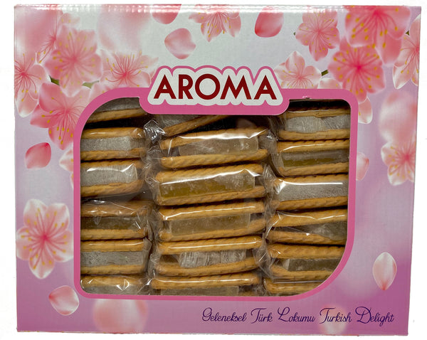 Aroma Biscuit Delight - Raha Bars - 1kg (24 bars)