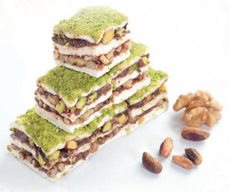 Pistachio Sandwich Delight - Chocolate / Pistachio / Marshmallow