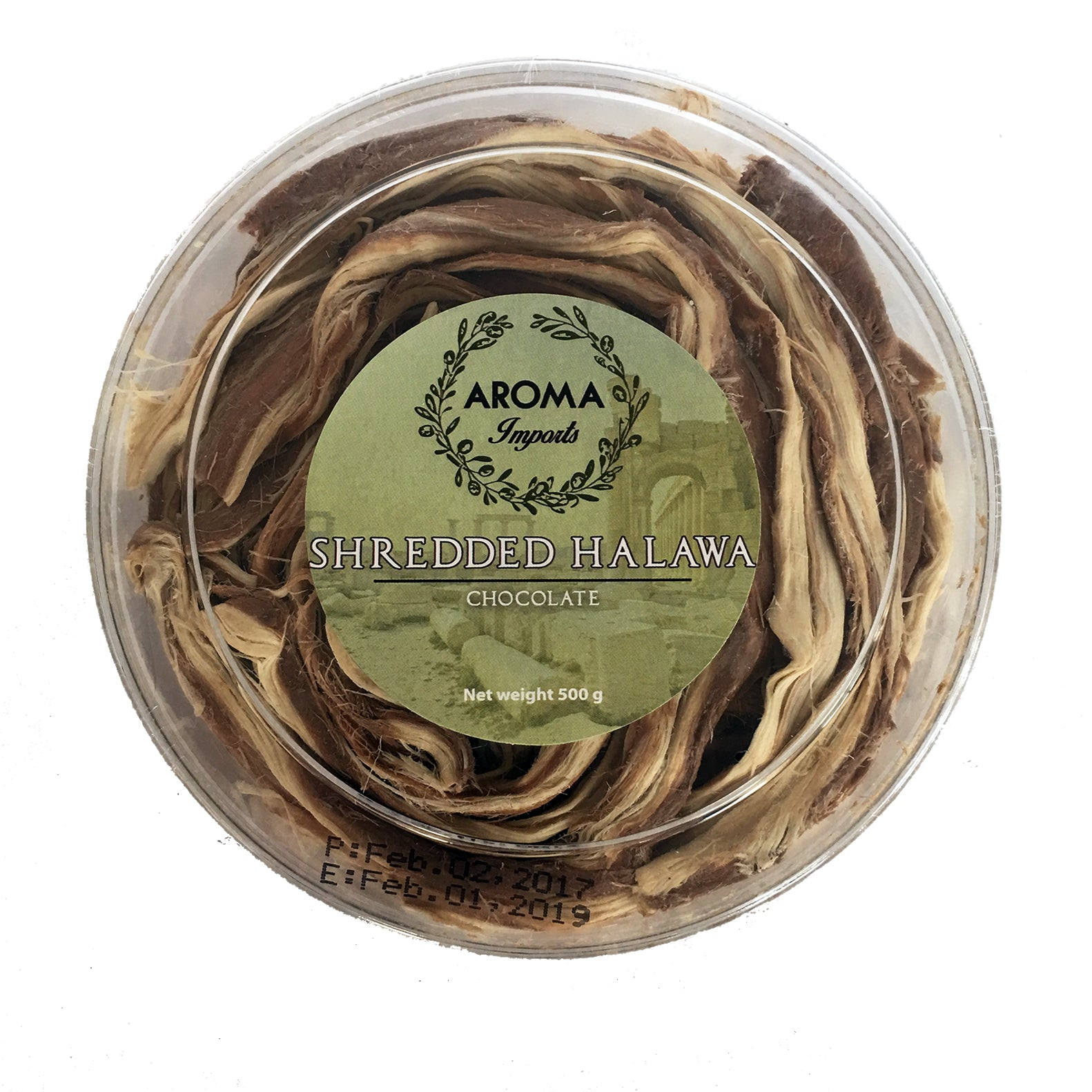 Chocolate Shredded Halawa (500g)