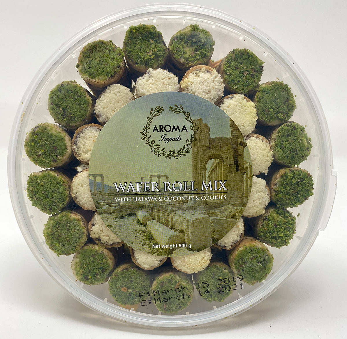 Rolled Wafer Halawa Mix - Aroma Imports