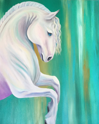 Magic Horse Painting Art Brandi Pratt