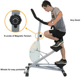 Magnetic Exercise Stair Climber/Stepper Machine JB-465