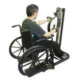 Recumbent Pedal Exerciser and Hand Cycle Combination - The Total Body Cycle JL-897