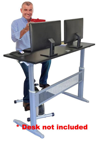Stel'Air Seated Standing Desk Cycle JL-647