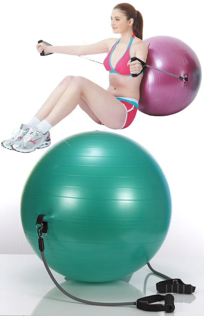Stel Air Exercise Ball With Bands Vf 655 The Inside