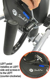 Ergonomic Handles for Magnetic Pedalers UH-857