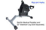 "22"" Leg for Medical Pedal Exerciser JZ-257"