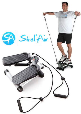 Mini Stepper with Resistance Bands TSVF-792