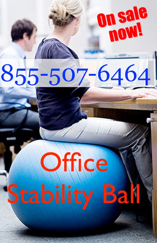 Stel'Air Stability Office Balls - Save Over 60% when you buy today.  This LOW PRICE offer is Only available with today's purchase.