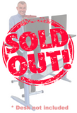 SOLD OUT! Stel'Air Seated Standing Desk Cycle JL-647 (Family Special)