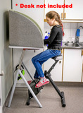 Stel'Air Student Standing Desk Cycle with Seat JL-394