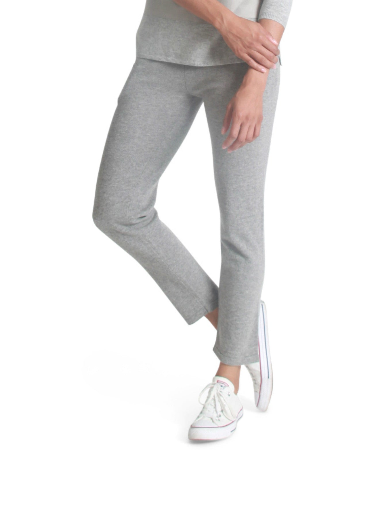 Cashmere cropped pants