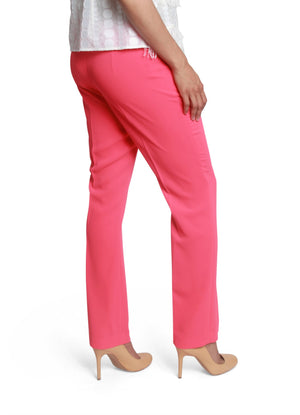 Slim stretchy flared pants