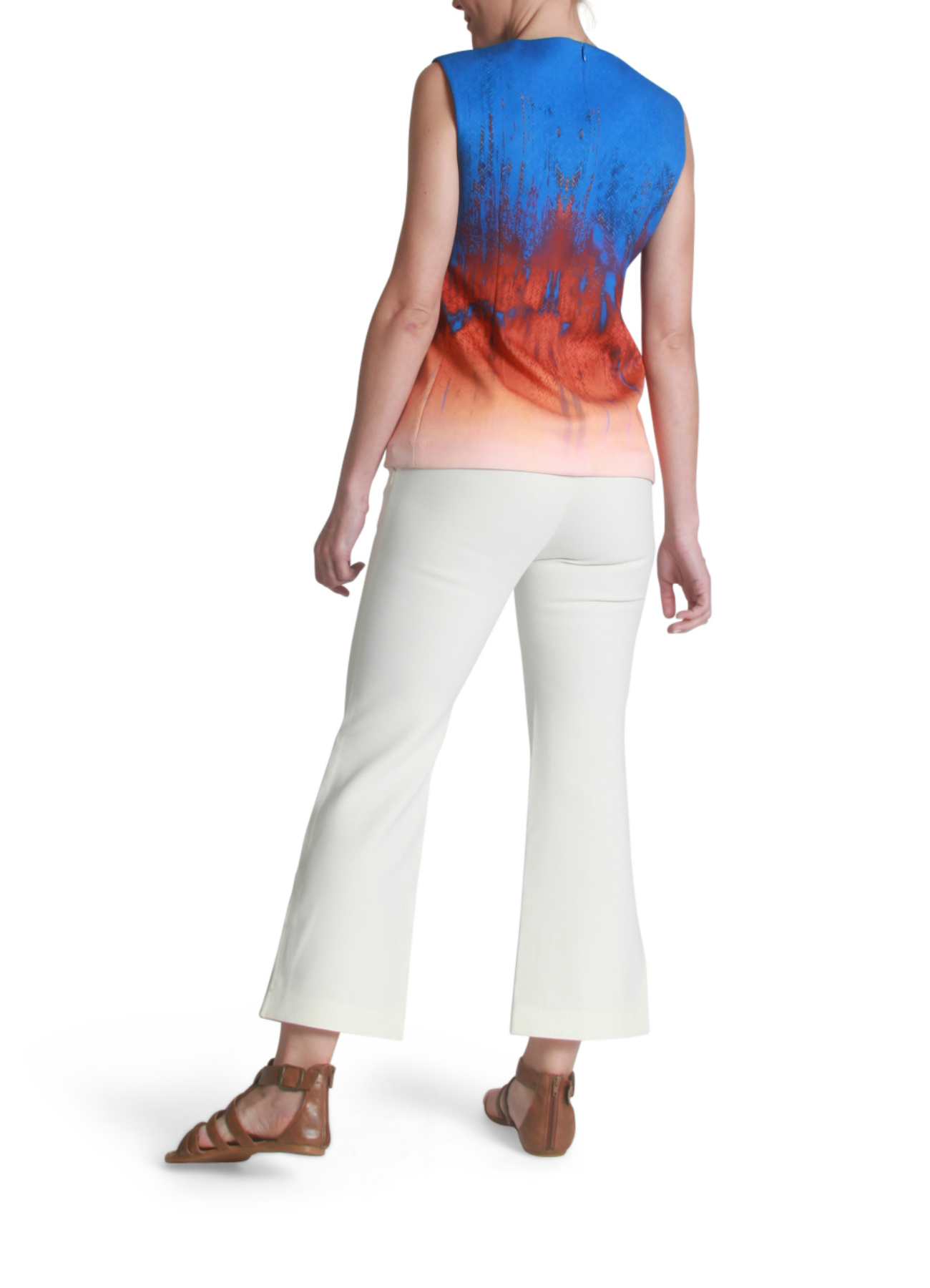 Neoprene graphic top