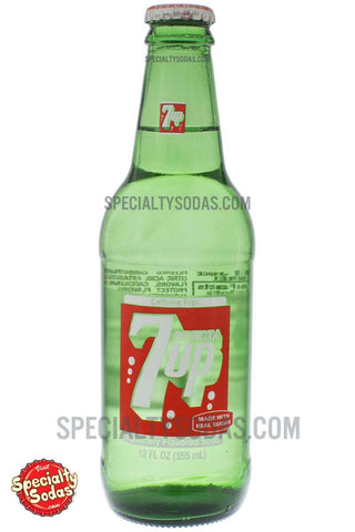 7up 12oz Glass Bottle