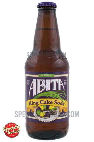 Abita King Cake Soda 12oz Glass Bottle