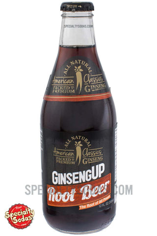American Classics Ginseng Up Root Beer 12oz Glass Bottle