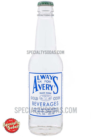 Avery's Carbonated Quinine Tonic Water 12oz Glass Bottle