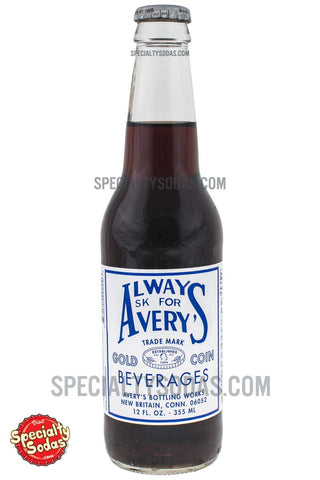Avery's Cola 12oz Glass Bottle
