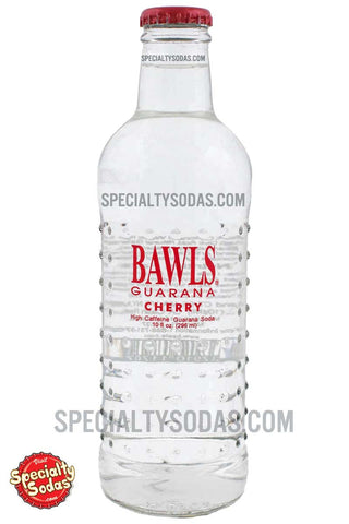 BAWLS Guarana Cherry 10oz Glass Bottle
