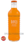 BAWLS Guarana Orange 10oz Glass Bottle
