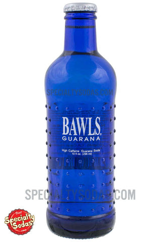 BAWLS Guarana Original 10oz Glass Bottle