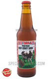Beefdrinker Teriyaki Beef Jerky Soda 12oz Glass Bottle