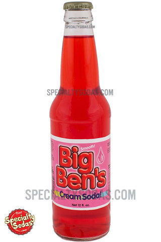 Big Ben's Cream Soda! 12oz Glass Bottle