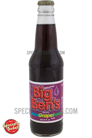 Big Ben's Grape! 12oz Glass Bottle