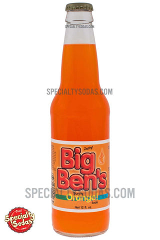 Big Ben's Orange! 12oz Glass Bottle