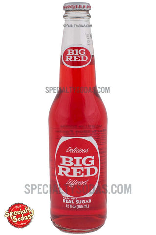 Big Red 12oz Glass Bottle