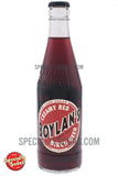 Boylan's Creamy Red Birch Beer 12oz Glass Bottle